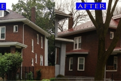 05 Metal Shingle Roof_ Chicago_ before after