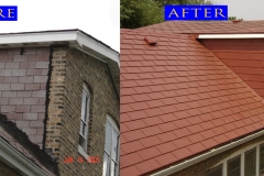 09 Metal Shingle Roof_ 7419 S Sangamon. Chicago_ before after