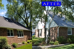 z Metal Shingle Roof_ 1305 Gamon Rd._ Wheaton before after 2