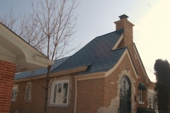 z4 metal shingle roof