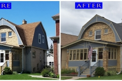 04 Asphalt Shingle Roof_ 619 Thomas Ave._ Forest Park before after