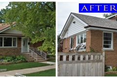 04 Asphalt Shingle Roof_ 8238 W. Cornelia Ave._ Chicago before after