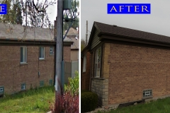 18 Asphalt Shingle Roof_ 117 E 92nd St._ Chicago before after
