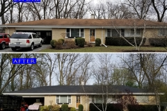 Asphalt Shingle Roof_ 1 Patricia Ln._ Prospect Heights before after
