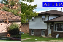 Asphalt Shingle Roof_ 10537 Orchard Ln._ Chicago Ridge before after