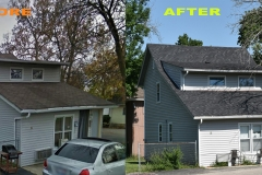 Asphalt Shingle Roof_ 12 Garfield St._ Joliet_ before after