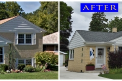 Asphalt Shingle Roof_ 1204 Good Ave._ Park Ridge before after