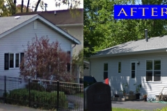 Asphalt Shingle Roof_ 121 W. Hawthorne Dr._ Round Lake Beach before after