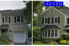 Asphalt Shingle Roof_ 128 Sterling Ln._ Wilmette before after