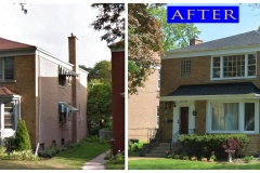 Asphalt Shingle Roof_ 1508 Madison_ Evanston before after