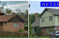 Asphalt Shingle Roof_ 744 Illinois Rd._ Wilmette before after