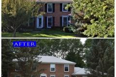 Asphalt Shingle Roof_ 7533 Inerway Dr._ Lakewood before after