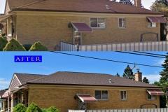 Asphalt Shingle Roof_ 7800 Lavergne Ave._ Burbank before after