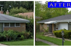 Asphalt Shingle Roof_ 9226 Keystone_ Skokie before after