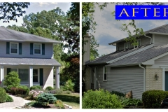 Asphalt Shingle Roof_ 935 S. Mallard Dr._ Palatine before after