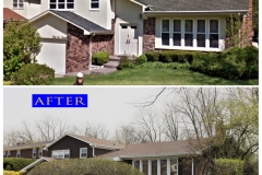 Siding_ 3917 Medford Cir_ Northbrook before after