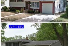 Vinyl Siding_ 51 Wagner Dr._ Cary before after