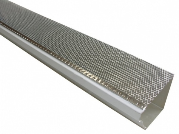 Aluminum Drop In Gutter Guard - Gutters