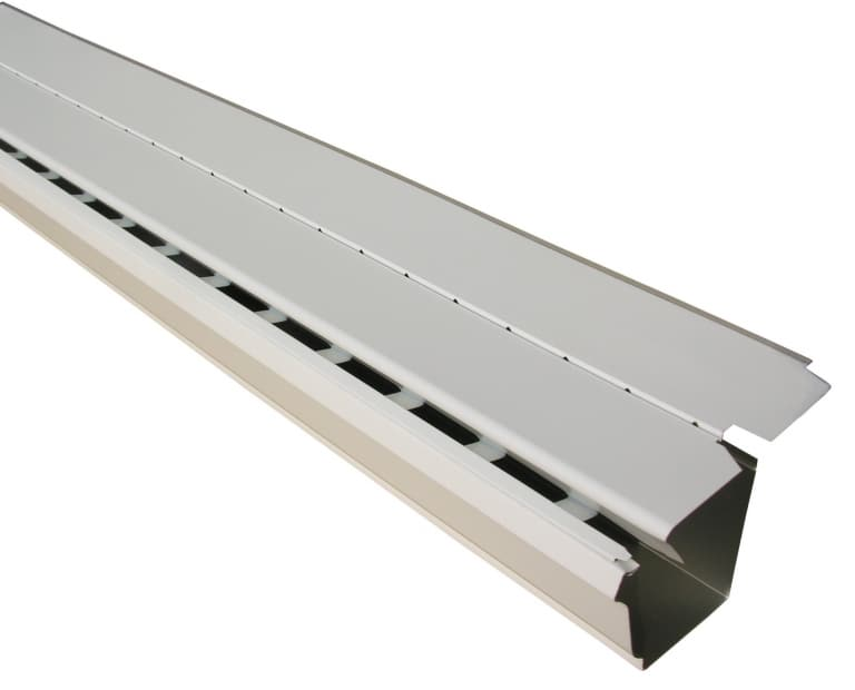 Aluminum Free Flow Gutter Guard 768x620 - Gutters Page - Gutter Leaf Guards Gallery