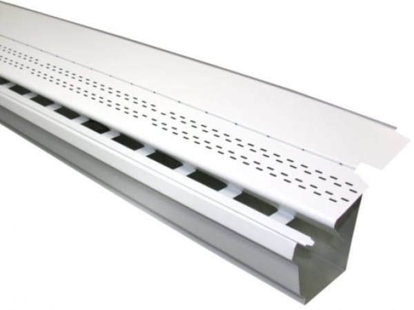 Aluminum High Flow Gutter Guard - Gutters