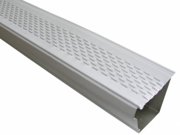Aluminum Leaf Out Gutter Guard - Gutters