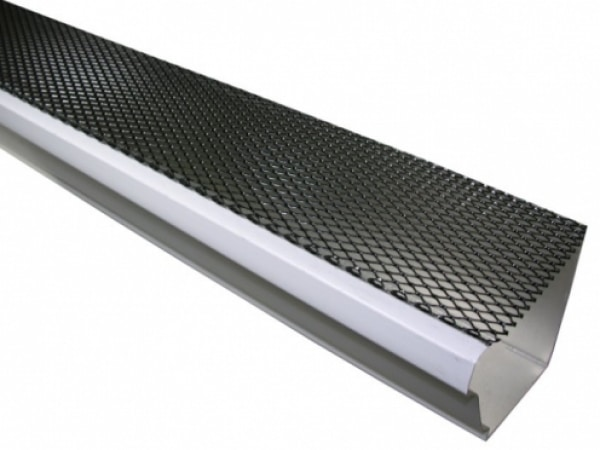 Steel Lock On Gutter Guard - Gutters