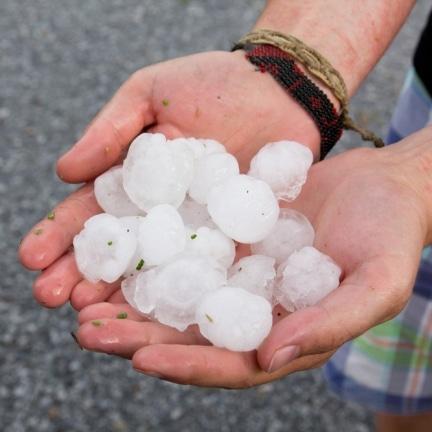 hail damage roof 1 432x432 - Storm & Hail Damage