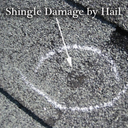 hail damage roof 432x432 - Storm & Hail Damage