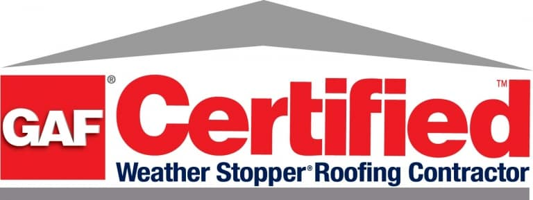 vendor07 CERTIFIED GAF 768x289 - Certifications w Logos